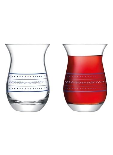 Madame Coco Mathis 6'Lı Çay Bardağı Renkli